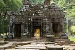 Thumbnail Ancient Shiva sanctuary with Buddha statue Wat Phu Champasak Laos