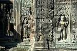 Thumbnail Fine reliefs of Apsera temple dancers Preah Khan Angkor Siem Reap Cambodia