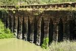 Thumbnail Historic Khmer bridge made of stone Kompong Kdey Cambodia