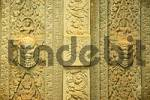Thumbnail Fine artwork in sandstone at temple Preah Ko Roluos Group Angkor Siem Reap Cambodia