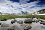 Thumbnail Lake, Sognefjellet, Norway, Scandinavia, Europe