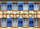 Thumbnail Blue white windows Monastry St. Trudpert at Münstertal in Breisgau Black Forest Germany