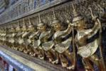 Thumbnail Garuda, birdlike mytholical being, Wat Phra Kaeo Tempel, Bangkok, Thailand