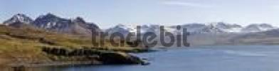 Thumbnail Borgarfjoerur fjord, Bakkageri, Iceland, Atlantic Ocean