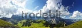 Thumbnail Karwendel Range view from Sonnjoch, Tirol, Austria, Europe