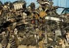 Thumbnail Car parts at a scrapyard