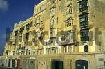 Thumbnail historic houses at Triq Marsamxett, Valetta, Malta