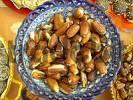 Thumbnail bowl full of filled dates, Arabia