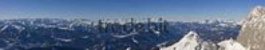 Thumbnail View toward the southwest from Mt. Dachstein, Styria, Austria, Europe