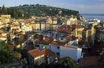 Thumbnail view over the historic center of Piran, Primorska region, Slovenia