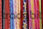 Thumbnail colorful fabric at the bazar of Kathmandu, Nepal