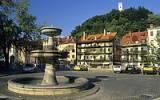 Thumbnail square at Ljubljanica river, Ljubljana, Slovenia