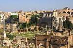 Thumbnail Forum Romanum Phocas column Temple of Antoninus and Faustina Rome Italy