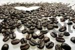 Thumbnail Coffee beans, espresso beans, heart shape