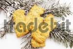 Thumbnail Speculaas cookies and a fir branch
