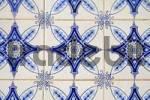 Thumbnail Old blue Spanish tiles, Azulejos, La Nucia, Alicante, Costa Blanca, Spain
