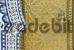 Thumbnail Ornate door, detail, royal palace in Fes or Fez, Morocco, North Africa