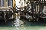 Thumbnail little wodden bridge at Canale Grande in Venice Italy