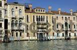 Thumbnail facades of houses at Canale Grande in Venice Italy