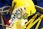 Thumbnail symbolic for salary of building worker