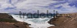 Thumbnail Beach, surf near La Pared, Fuerteventura, Canary Islands, Spain, Europe