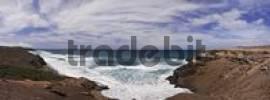 Thumbnail Beach, surf near La Pared, Fuerteventura, Canary Islands, Spain, Europe