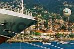 Thumbnail ship bow harbor of Funchal Madeira Portugal