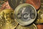 Thumbnail Close up of a one Euro coin