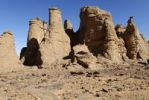 Thumbnail Rock formation in El Ghessour, Tassili du Hoggar, Wilaya Tamanrasset, Algeria, Sahara, Africa