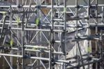 Thumbnail Building restoration in Barcelona, Catalonia, Spain, Europe