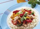 Thumbnail Rice with tuna and capsicum salad