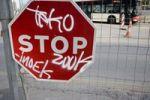 Thumbnail Stop sign, traffic sign, Barcelona, Catalonia, Spain, Europe