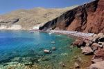 Thumbnail Red Beach, a rocky beach with red volcanic rocks, tourist attraction, Santorini, Cyclades, Greece, Europe