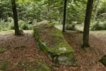 Thumbnail Long stones near Riedenburg, Rhoen, Lower Franconia, Bavaria, Germany, Europe