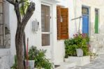 Thumbnail Alleyway in Naxos, Cyclades, Greece, Europe