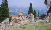 Thumbnail Metropolis, ruins of the Byzantine city of Mystras, Laconia, Peloponnese, Greece, Europe