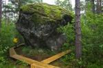 Thumbnail Boulder rock, Majakivi, Aabla Raba, jungle in Lahemaa National park, Estonia, Baltic States, Europe