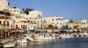 Thumbnail Naxos town and port in the evening light, Cyclades, Greece, Europe