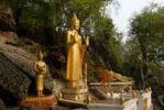 Thumbnail Buddha statues on Phu Si Hill, Luang Prabang, Laos, Southeast Asia