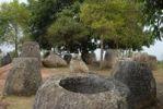 Thumbnail Mysterious stone jugs, Plain of Jars site No. 2, Hai Hin Phu Salato, Xieng Khuang Province, Laos, Southeast Asia
