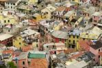 Thumbnail View onto the rooftops of Monterosso, Liguria, Italy, Europe