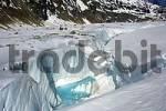 Thumbnail Crevasse Glacier Mer de Glace Chamonix Haute-Savoie France