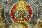 Thumbnail Golden face with sun rays Surya god Surya temple Jaipur Rajasthan India