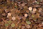 Thumbnail Change, cent coins