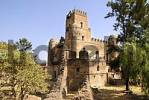 Thumbnail Old palace Gemp with tower and battlement Gondar Ethiopia
