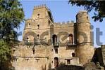 Thumbnail Old palace Gemp with towers and battlement Gondar Ethiopia