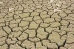 Thumbnail Water shortage, cracks in mud ground