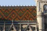 Thumbnail Coloured tiled roof of the parish church in Meiningen, Rhoen, Thuringia, Germany, Europe