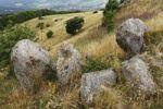 Thumbnail Basalt rocks on Simmelsberg near Gersfeld, Rhoen, Thuringia, Germany, Europe