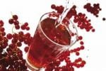 Thumbnail Currant spritzer with red currants Ribes rubrum